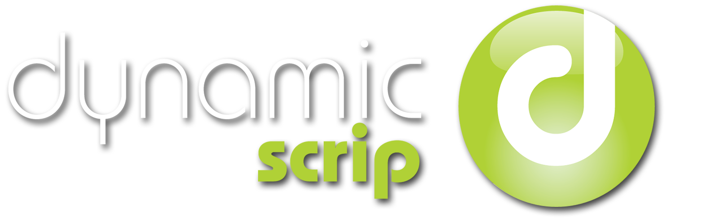 Dynamic Scrip Logo